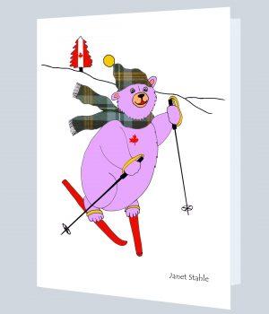 MUSKOKA TARTAN ART CARD